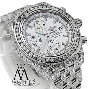 Breitling Breitling Galactic Chronograph Ii 44mm Fully Diamond Watch A13364
