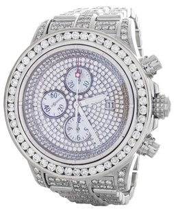 Breitling 20 Ct Daimonds Breitling Super Avenger Custom Diamond Watch