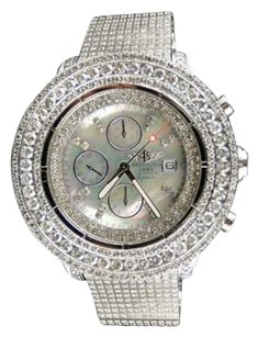 Breitling Ct Mens Breitling Super Avenger Diamond Watch Custom Fully Iced
