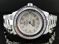 Breitling Ladies Breitling Aeromarine White Colt Ocean Diamond Watch Ct