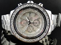 Breitling Mens Breitling Super Avenger 1 Row Big 51 Mm Diamond Watch Ct