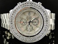 Breitling Mens Breitling Super Avenger Row Diamond Watch 23 Ct