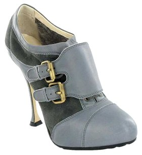 Brian Atwood Luxury Gray Boots