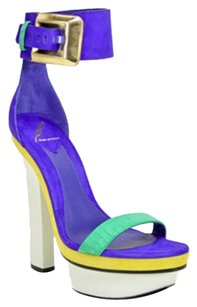 B Brian Atwood Multi colored Platforms