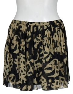 Broadway & Broome Womens Mini Skirt Beige