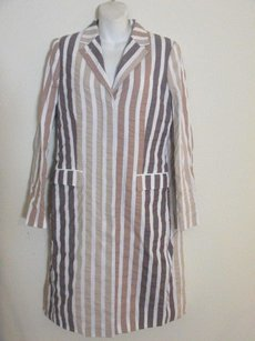 Brooks Brothers Black Fleece Striped 34 Bb3 beige Jacket