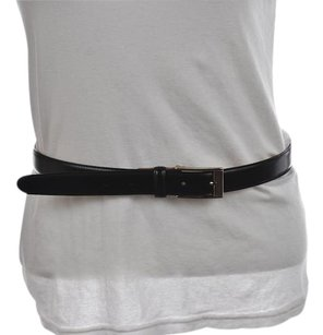 Brooks Brothers Brooks Brothers Womens Black Belt 1618 Solid Leather Casual