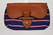 Brooks Brothers Womens Navy Clutch
