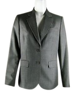Brooks Brothers Long Sleeve Wool Suit Gray Jacket