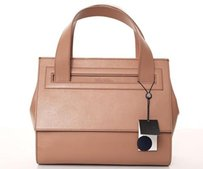 Brooks Brothers Bettina Satchel in Beige