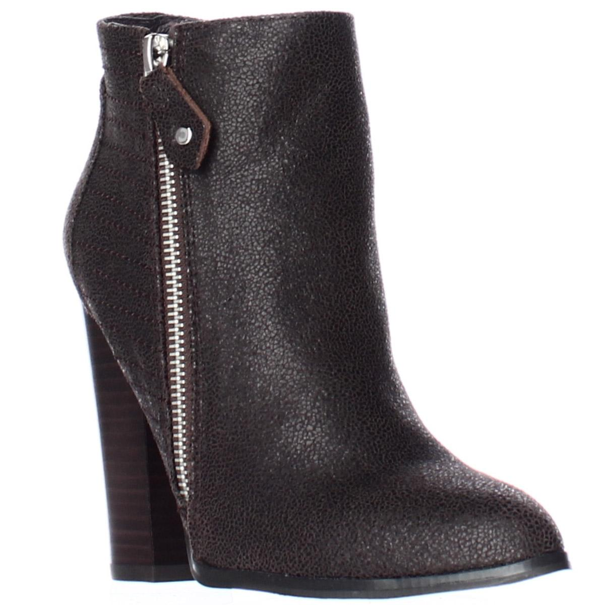 d3f55671c3c6 ... Brown Brown Brown Nadine Pointed Toe Ankle Fashion Dark Boots Booties  Size US 6 Regular ...