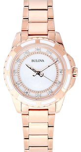 Bulova Rose Gold-Tone Watch