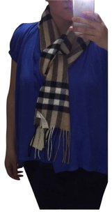Burberry Burberry Metallic Giant Check Skinny Cashmere Long Scarf