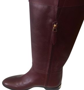 Burberry Bordeaux Boots