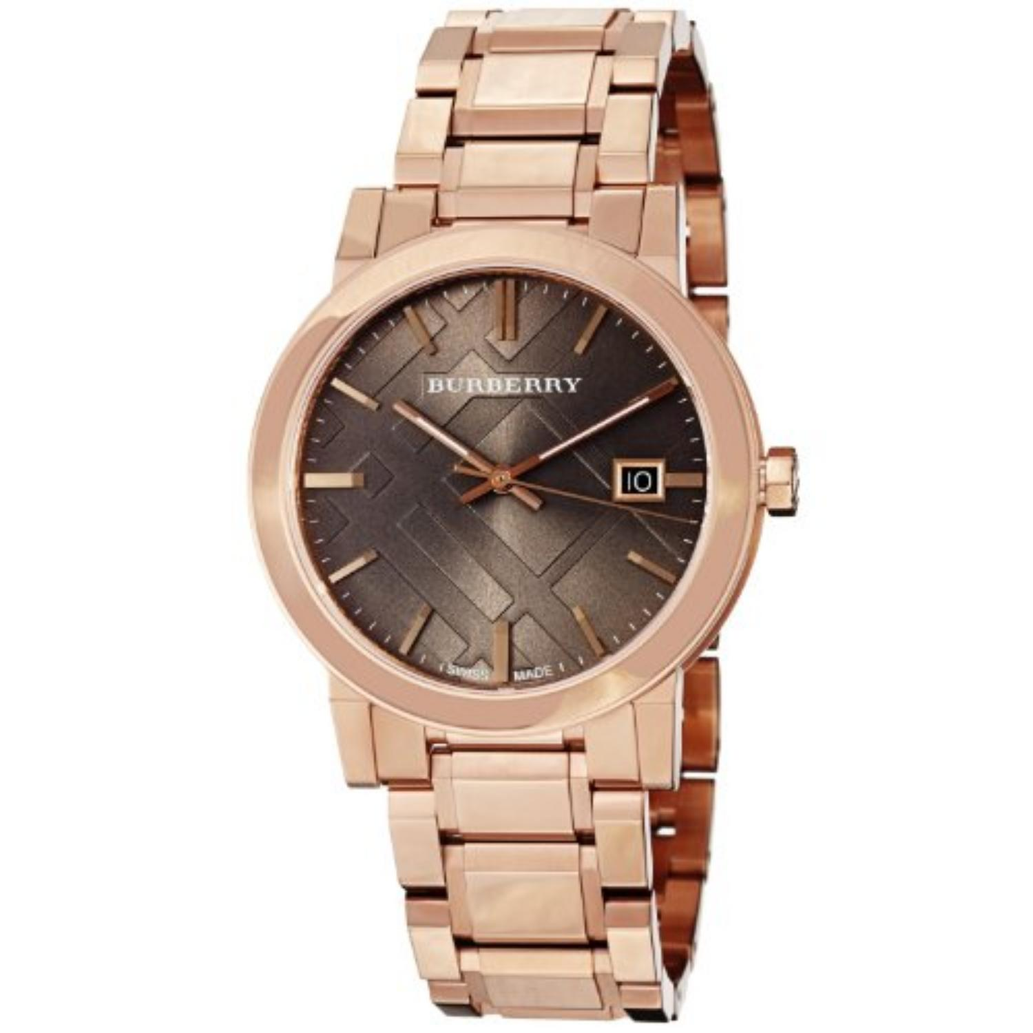 Burberry Rose Gold Unisex Bu9005 Watch from Ghada H. on ...