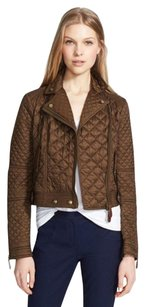 Burberry Moto Check Oakcliffe Quilted Motorcycle Jacket
