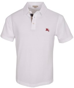 Burberry Brit Men's Polo T Shirt White