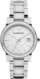 Burberry Burberry Check Stainless Steel Ladies Watch Bu9100