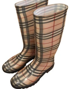 Burberry Burberry plaid Boots