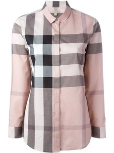 Burberry Button Down Shirt antique pink