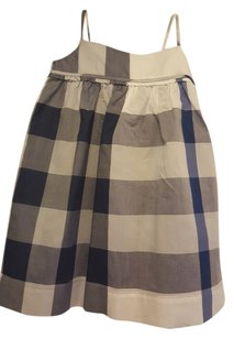 Burberry short dress Blue (lupin) check on Tradesy
