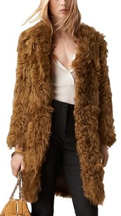 Burberry Fur Shearling Fur Coat