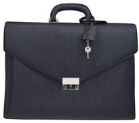 Burberry Men's Briefcase Hand Black Messenger Bag