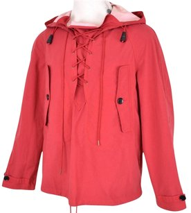 Burberry Men's Red Jacket