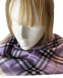 Burberry NEW BURBERRY LONDON 100% SILK SQUARE SCARF