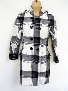 Burberry Nova Plaid Wool Coat