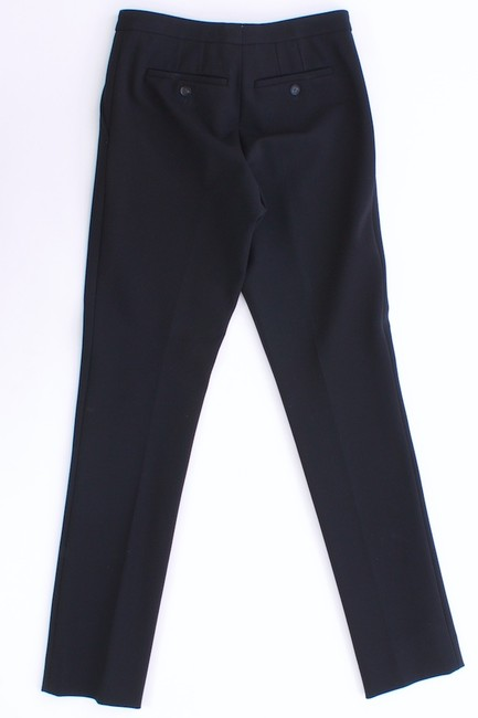 Burberry Rayon Heavy Thick Skinny Pants Black