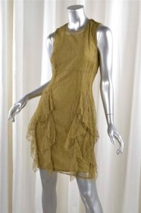 Burberry Prorsum short dress Olive Womens on Tradesy
