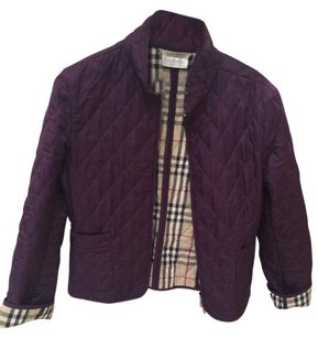 Burberry Dark eggplant purple Jacket