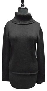 Burberry Long Stretchy Turtleneck Thin Knit 4690a Sweater