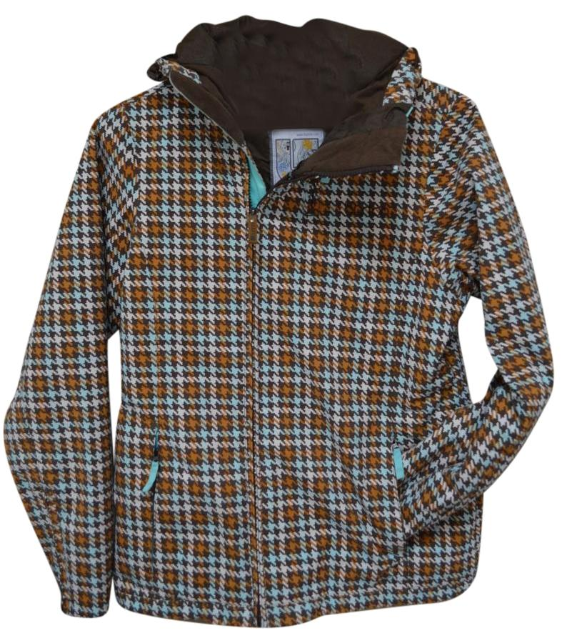 Burton Blue/Brown Houndstooth Size 4 (S)