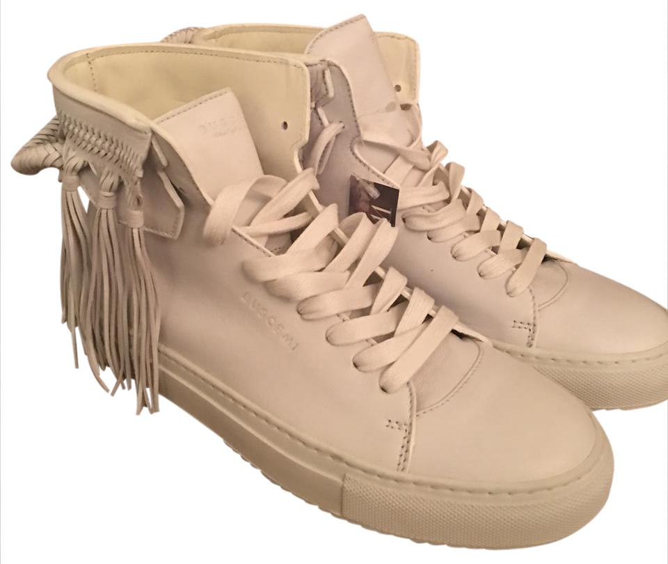 Buscemi Sold Out Authentic Leather Fringe High Tops