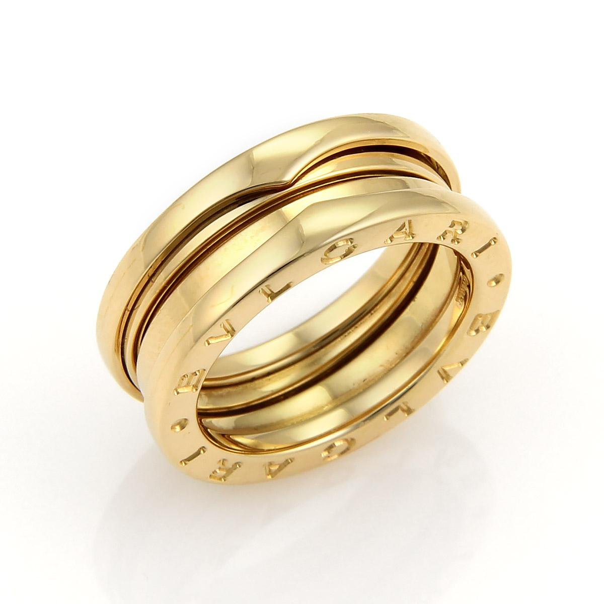 bvlgari bvlgari bzero1 wide 18k yellow gold band ring 7mm
