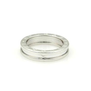 BVLGARI Bulgari Bvlgari B.zero 1 18k White Gold 5mm Band Ring -