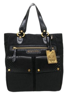 BVLGARI Tote in Black
