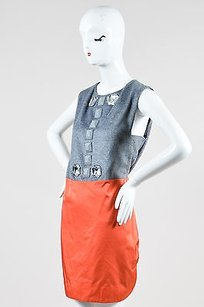 By Malene Birger short dress Multi-Color Gray Coral on Tradesy