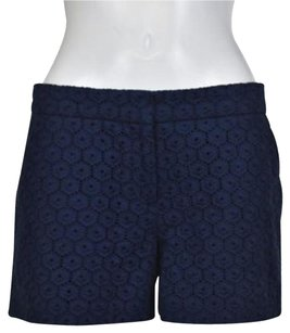 C. Wonder C Womens Eyelet Shorts Navy