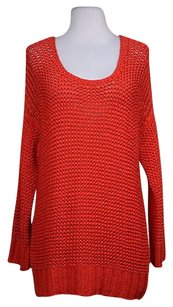 C. Wonder C Womens Loose Knit Scoop Neck Sweater