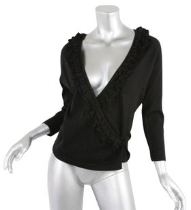 Cacharel Womens Black Knit Sweater