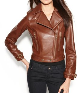 Calvin Klein 100% Genuine Leather 100-150 Coat