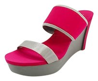 Calvin Klein Good Womens pink Platforms
