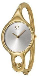 Calvin Klein Calvin Klein Ck Air Gold-tone Bangle Ladies Watch K1n23526