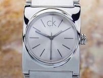 Calvin Klein Calvin Klein K51221 Mens Luxury Swiss Made Quartz Fashion Watch 2000s Scx342