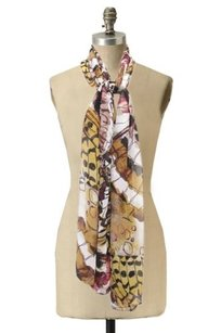 Calvin Klein Calvin Klein Sheer Printed Scarf Abstract Print One