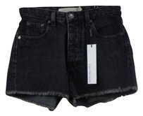 Calvin Klein Jeans Womens Denim Casual Wash Shorts Black