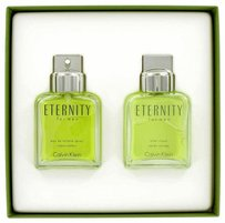 Calvin Klein Eternity By Calvin Klein Gift Set -- 3.4 Oz Eau De Toilette Spray + 3.4 Oz After Shave